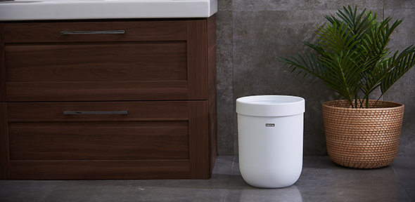 G2490/G2921-Nordic style cylinder trash can