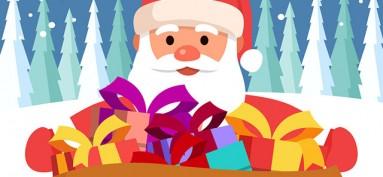 Santa sends a message